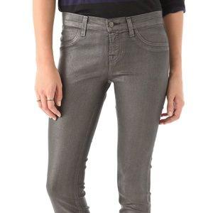 J Brand Jeans - J Brand Super Skinny Moonwalk Coated